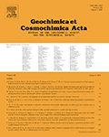 Geochimica et Cosmochimica Acta