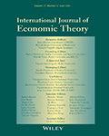International Journal of Economic Theory