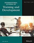 International Journal of Training and Development