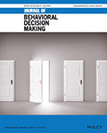 Journal of Behavioral Decision Making