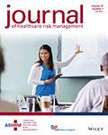 Journal of Healthcare Risk Management