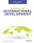 Journal of International Development