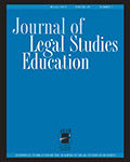 Journal of Legal Studies Education