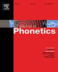 Journal of Phonetics