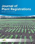 Journal of Plant Registrations