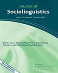 Journal of Sociolinguistics