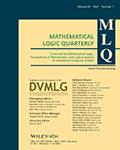 Mathematical Logic Quarterly