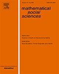Mathematical Social Sciences