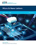 Micro & Nano Letters