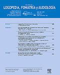 Revista de Logopedia, Foniatria y Audiologia