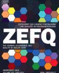 Zeitschrift für Evidenz, Fortbildung und Qualität im Gesundheitswesen