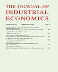 Journal of Industrial Economics, The