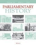 Parliamentary History