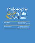 Philosophy & Public Affairs