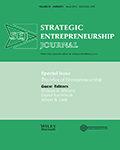 Strategic Entrepreneurship Journal