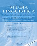 Studia Linguistica
