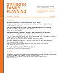 Studies in Family Planning