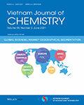 Vietnam Journal of Chemistry