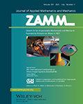 ZAMM – Journal of Applied Mathematics and Mechanics