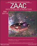 Zeitschrift für anorganische und allgemeine Chemie